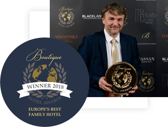 Best boutique hotel in Europe 2018